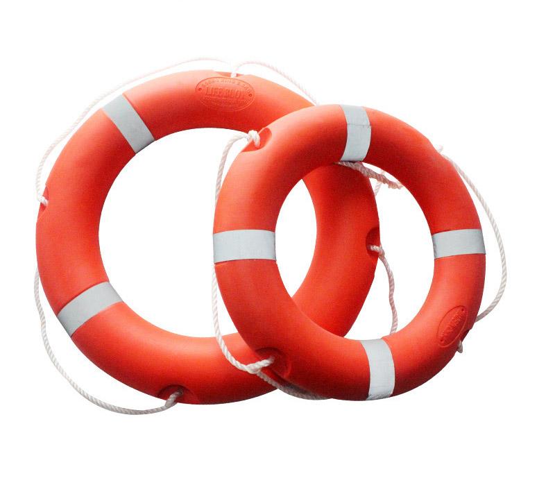 2.5kg国标船用救生圈成人救生圈儿童救生圈塑料