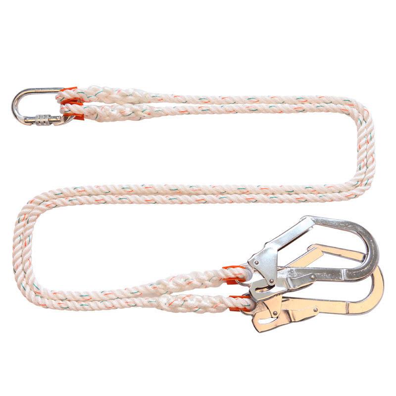 户外双绳大挂钩配套安全绳
