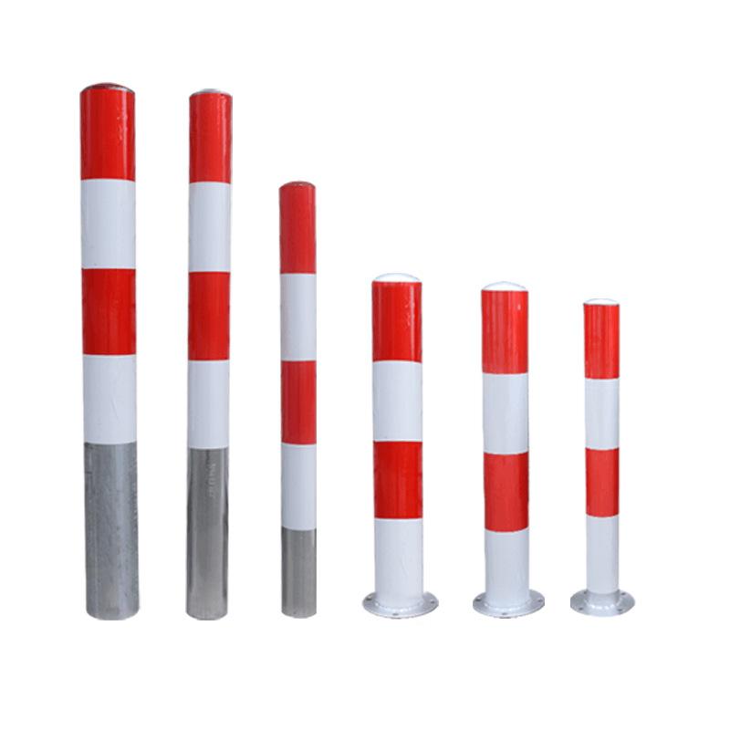 反光镀锌钢管警示柱道路防撞必威app下载苹果柱