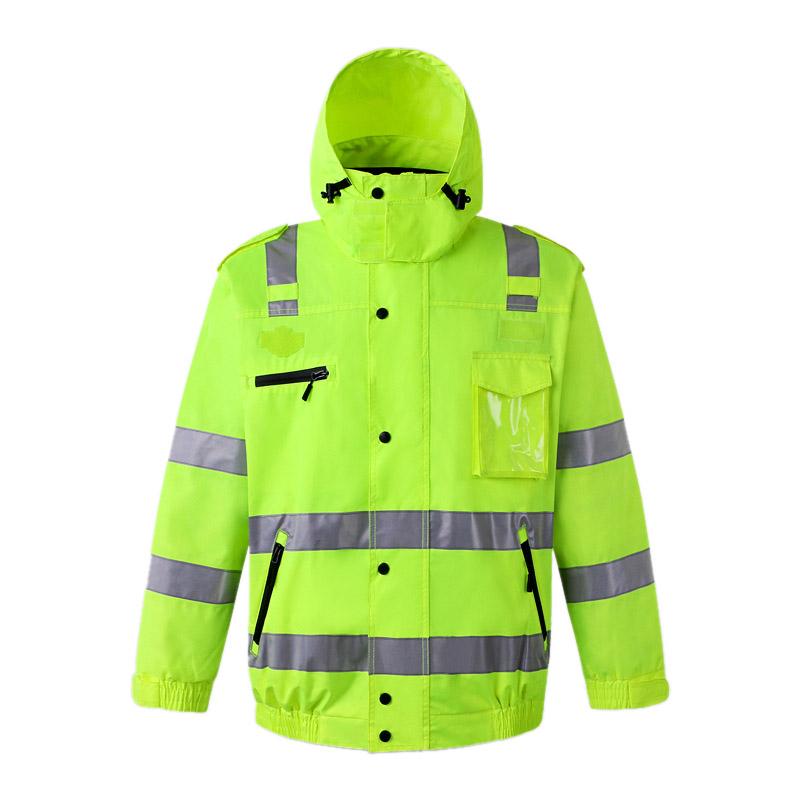 反光防风雨外套