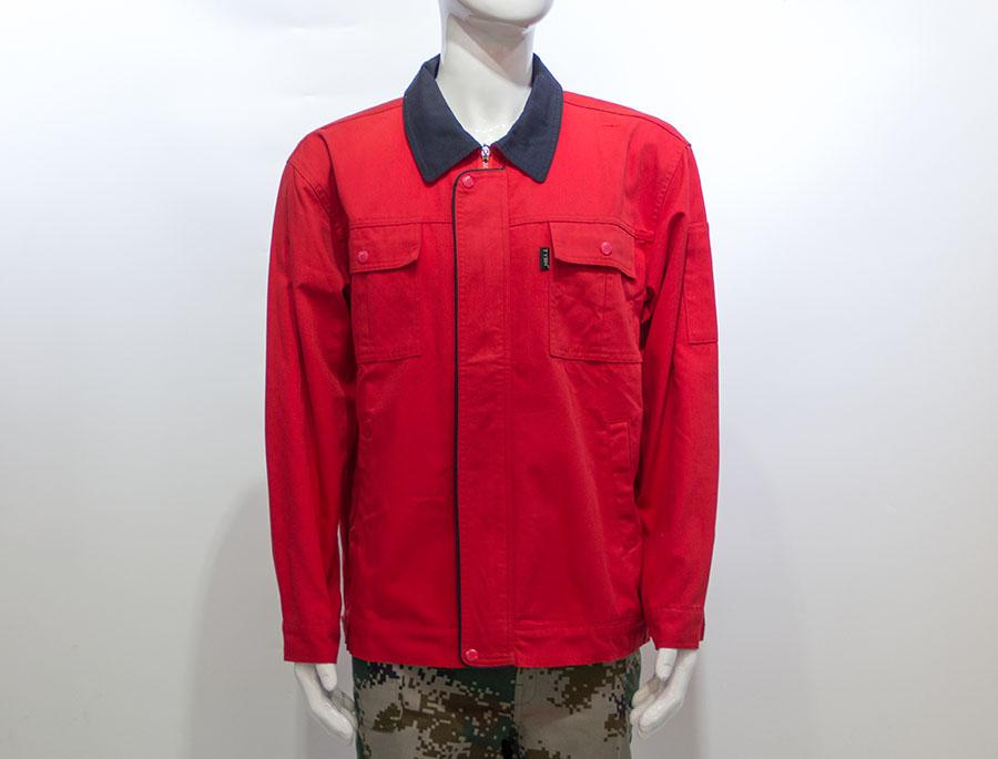长袖纯棉工作服