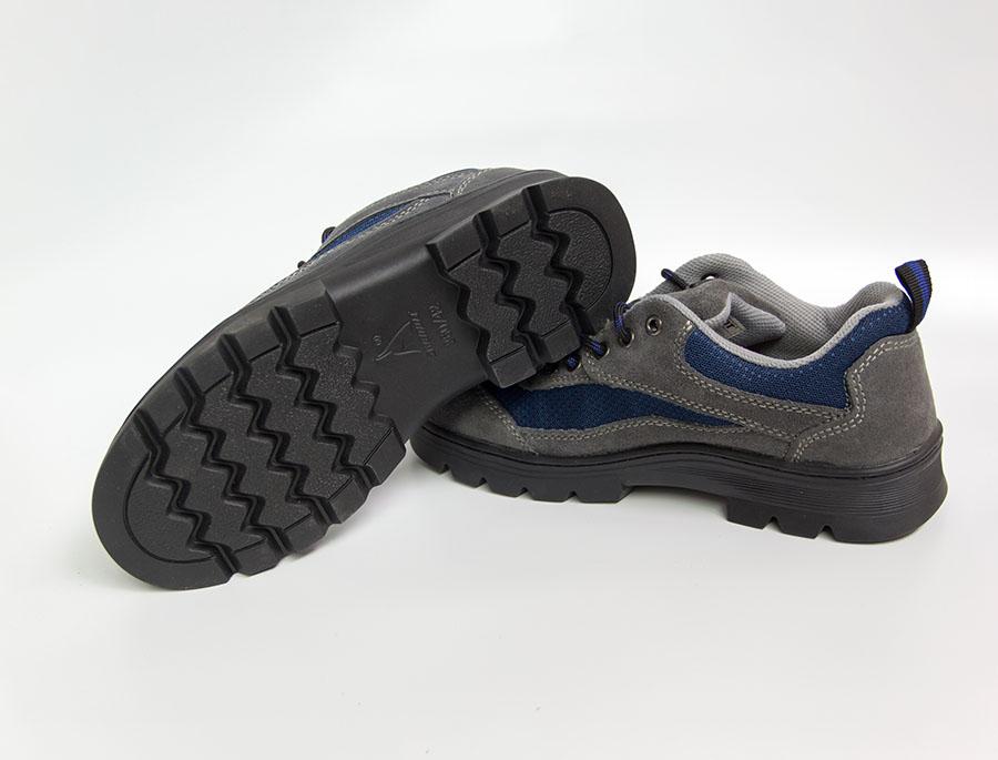 不掉底防刺穿防砸安全鞋