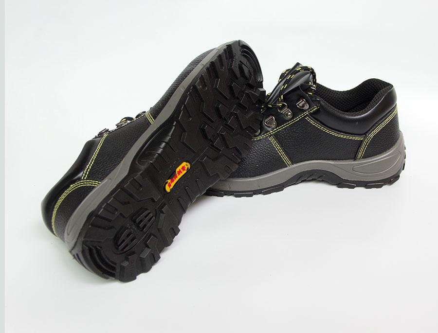 橡胶防滑不掉底防刺穿防砸安全鞋
