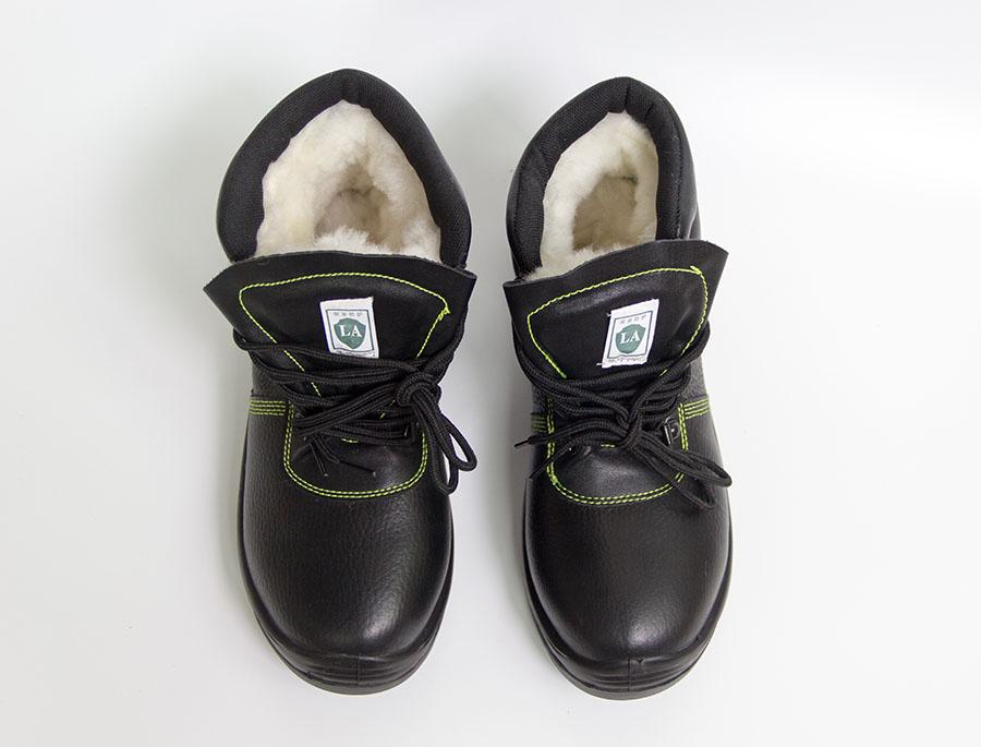 加绒保暖高腰劳保靴